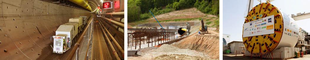 Tunnel bi-tube de Saverne LGV Est-européenne phase 2