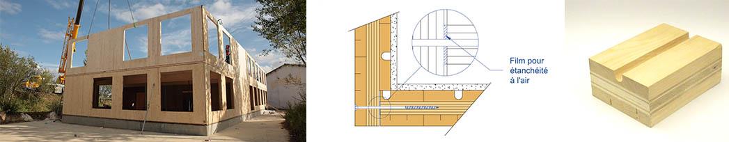 Le kerto-in-Leno : le seul mur 3 plis étanche à l'air