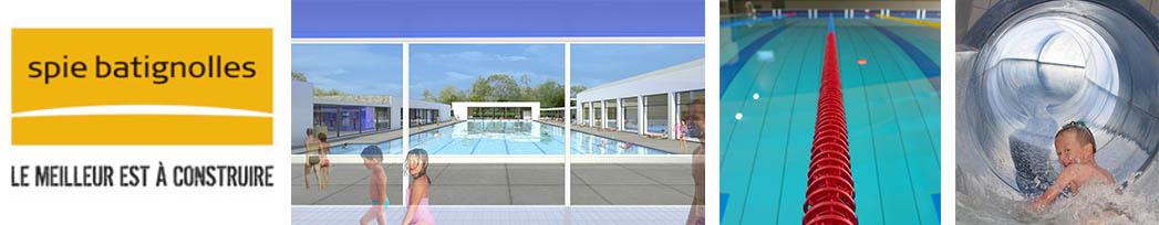 Nouveau centre aquatique à Lunéville (54)