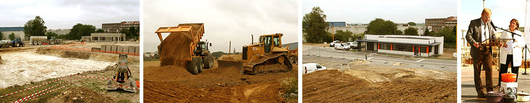 Le Creuset© pose la première pierre de sa nouvelle usine de Fresnoy-le-Grand