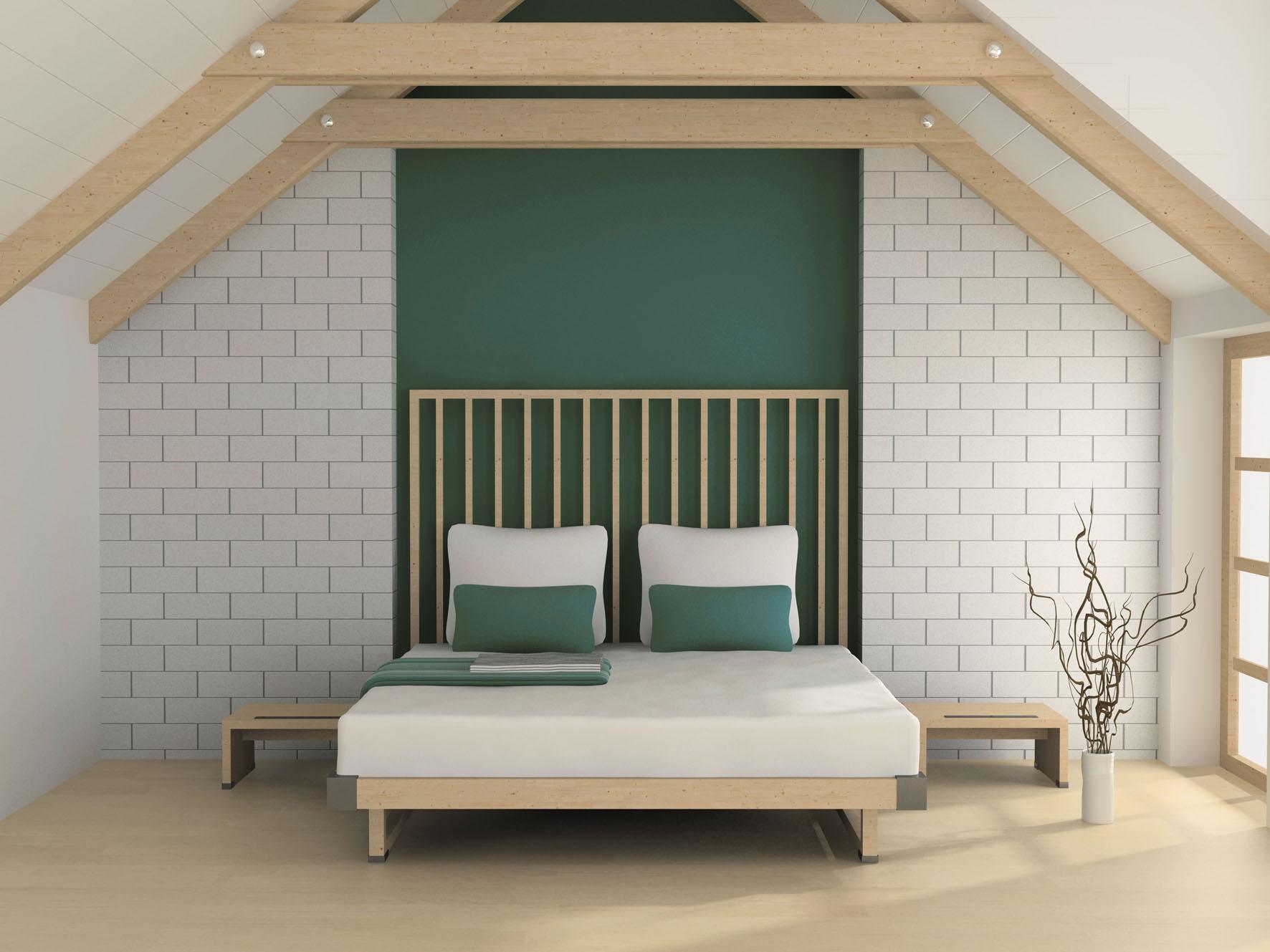 Mathys - La peinture vert émeraude de Mathys® habille tous les intérieurs - FPA