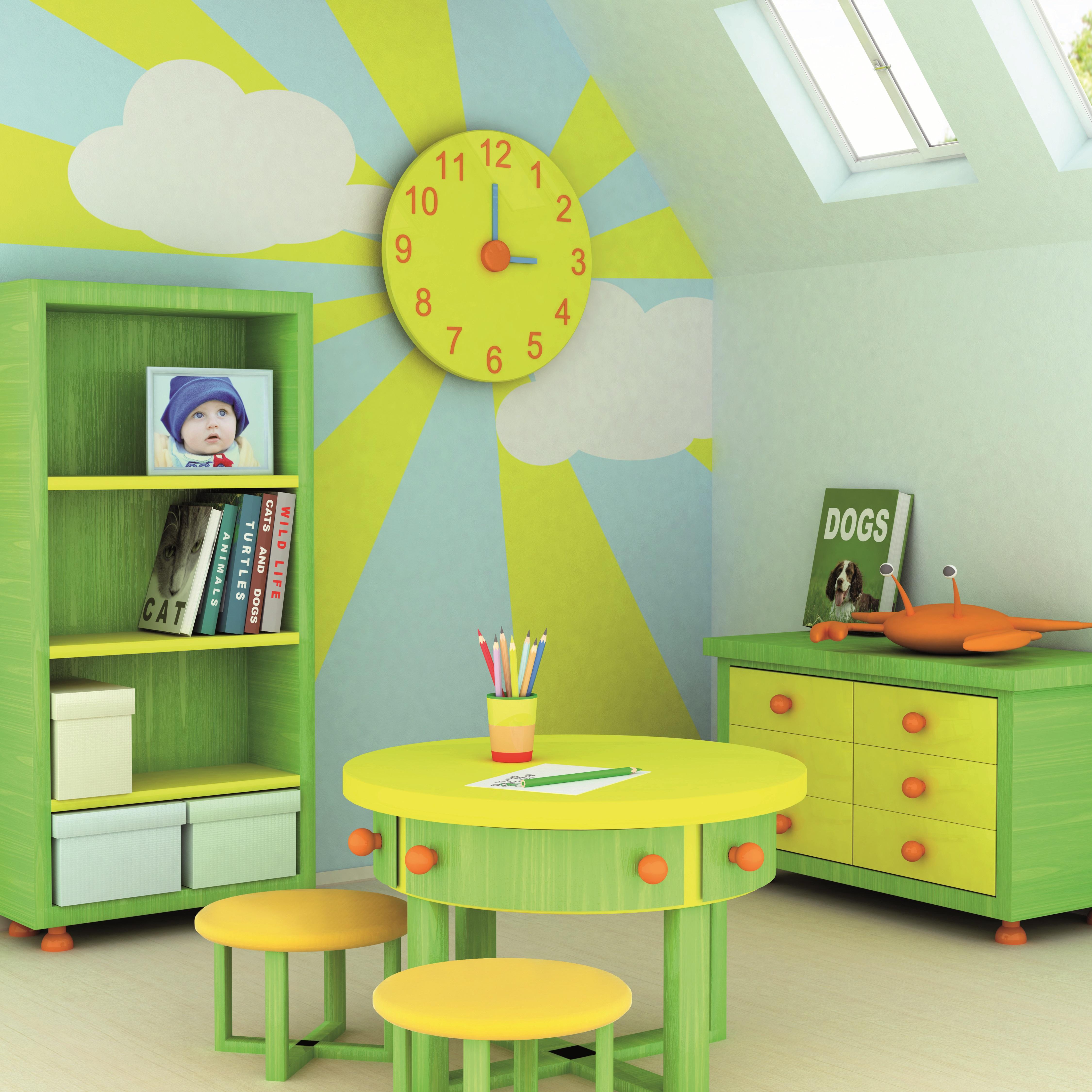 Paracem Déco Nature de MATHYS : la peinture idéale pour les chambres d'enfants - FPA
