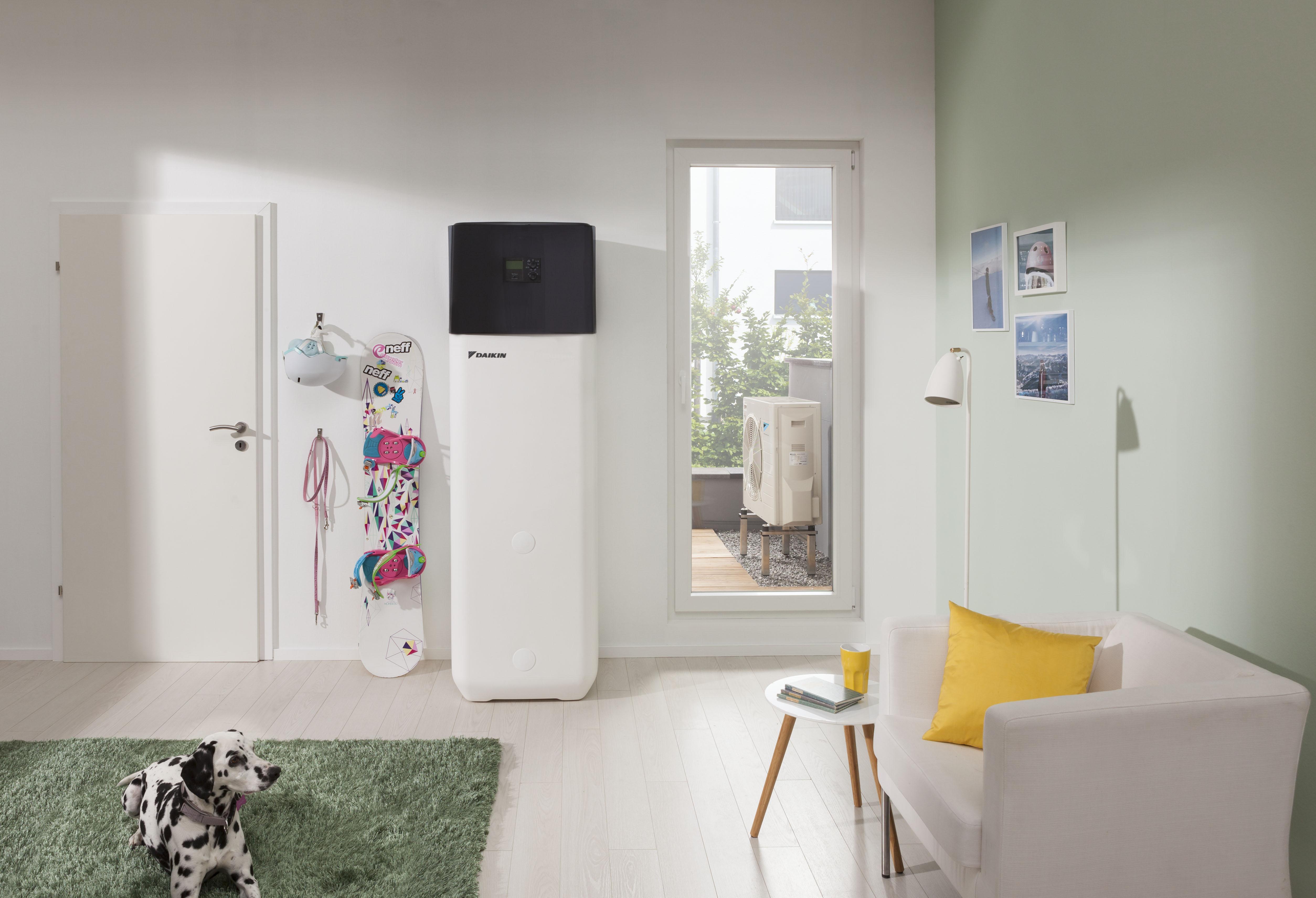 pompe chaleur air eau daikin altherma bi bloc basse. Black Bedroom Furniture Sets. Home Design Ideas