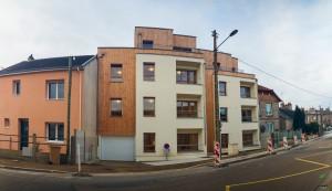ICF Habitat Atlantique - HP 5341 - 114 rue d'Arnage 72000 Le Mans - 12 logements collectifs BBC Effinergie