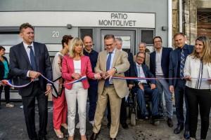 """Inauguration et visite de l'immeuble ICF Habitat, """"Le Patio Montolivet"""", situŽ au 20 rue Banon ˆ Marseille- vendredi 17 juin 2016"""