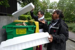 ICF Habitat La Sablière - Visite Eco-emballages sur la résidence 10-18 bd Massena à Paris