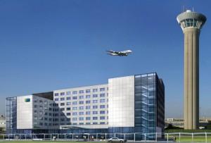 Vue du futur hôtel Holiday Inn Express