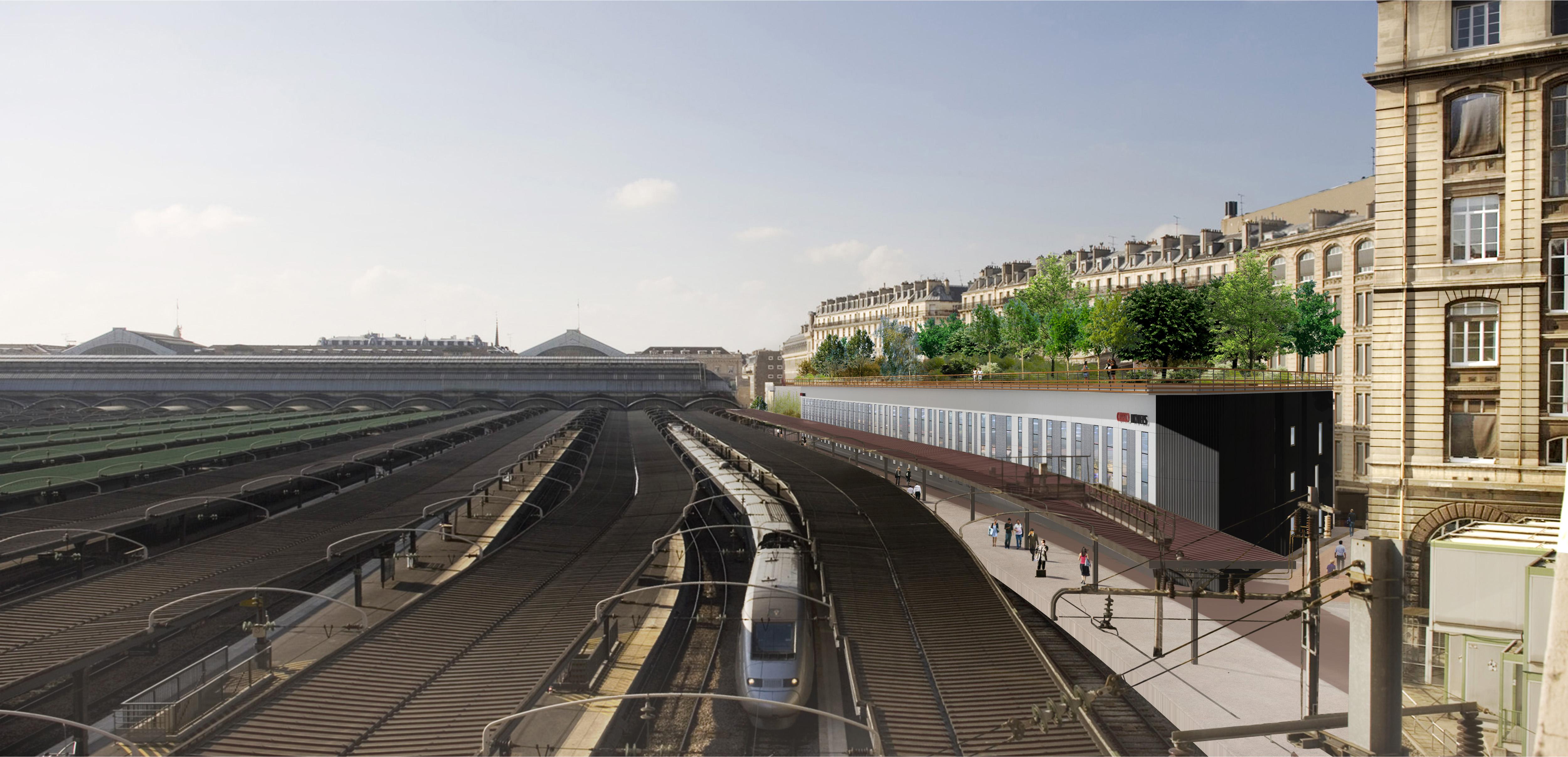 Spie batignolles immobilier lancement des travaux pour for Exterieur quai gare de l est