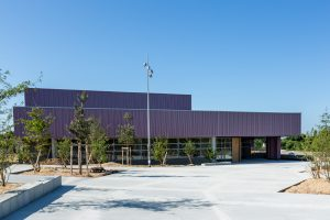 Salle de sport - Savenay (44) © Ronan Rocher - Architecte Le Borgne