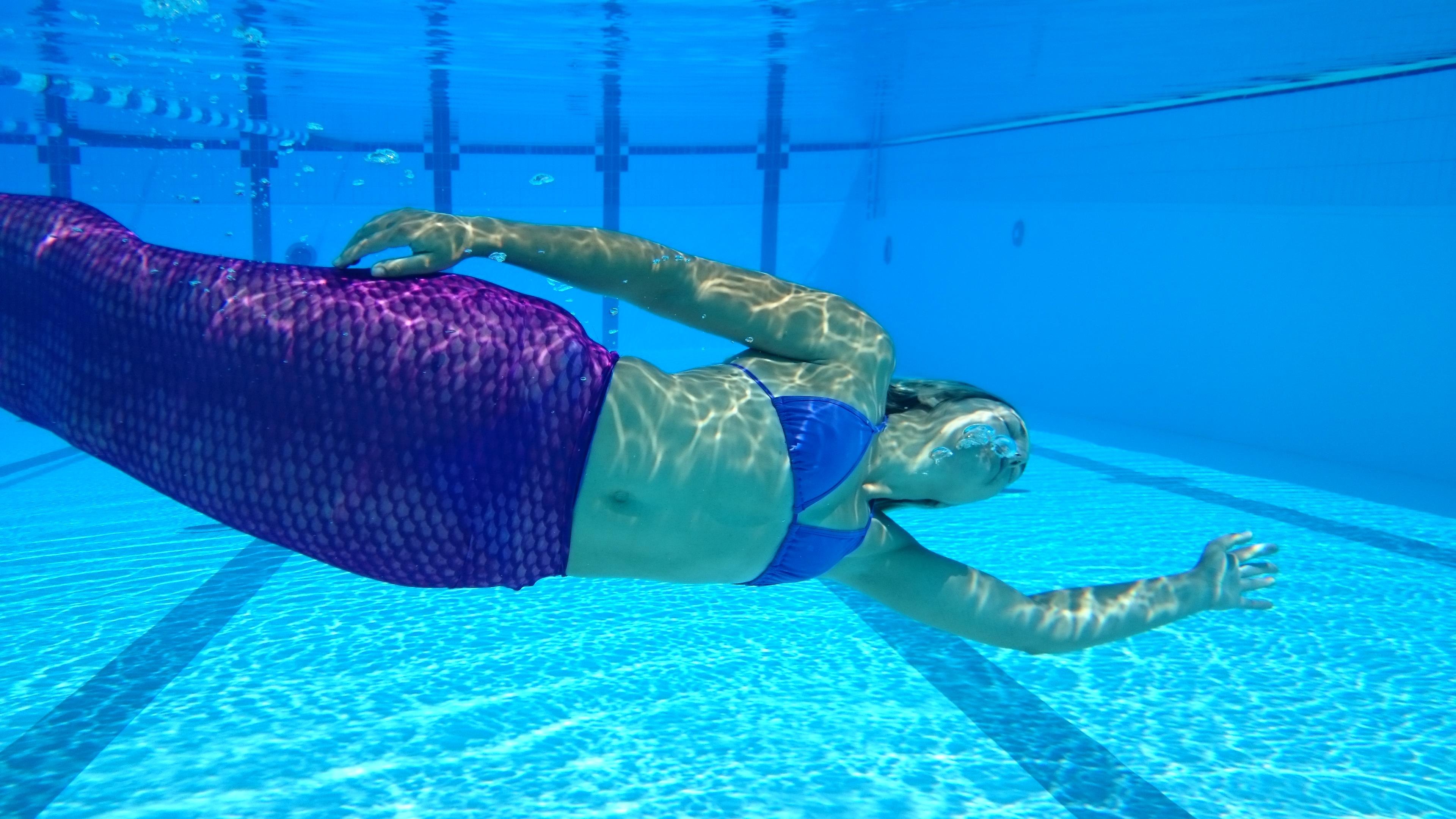 nager comme une sirène en france