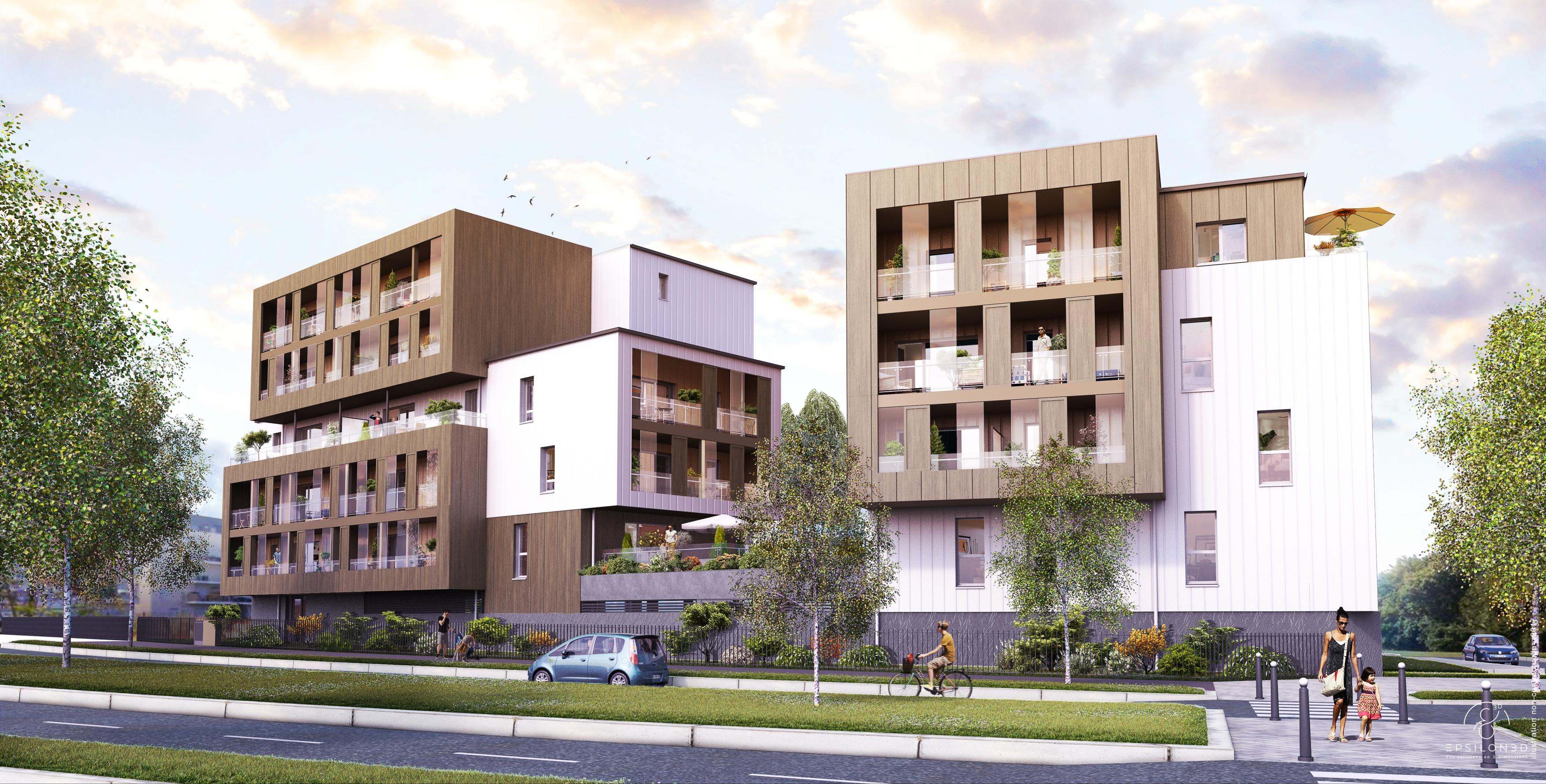 Obm construction lance un programme de logements neufs for Construction de logements neufs