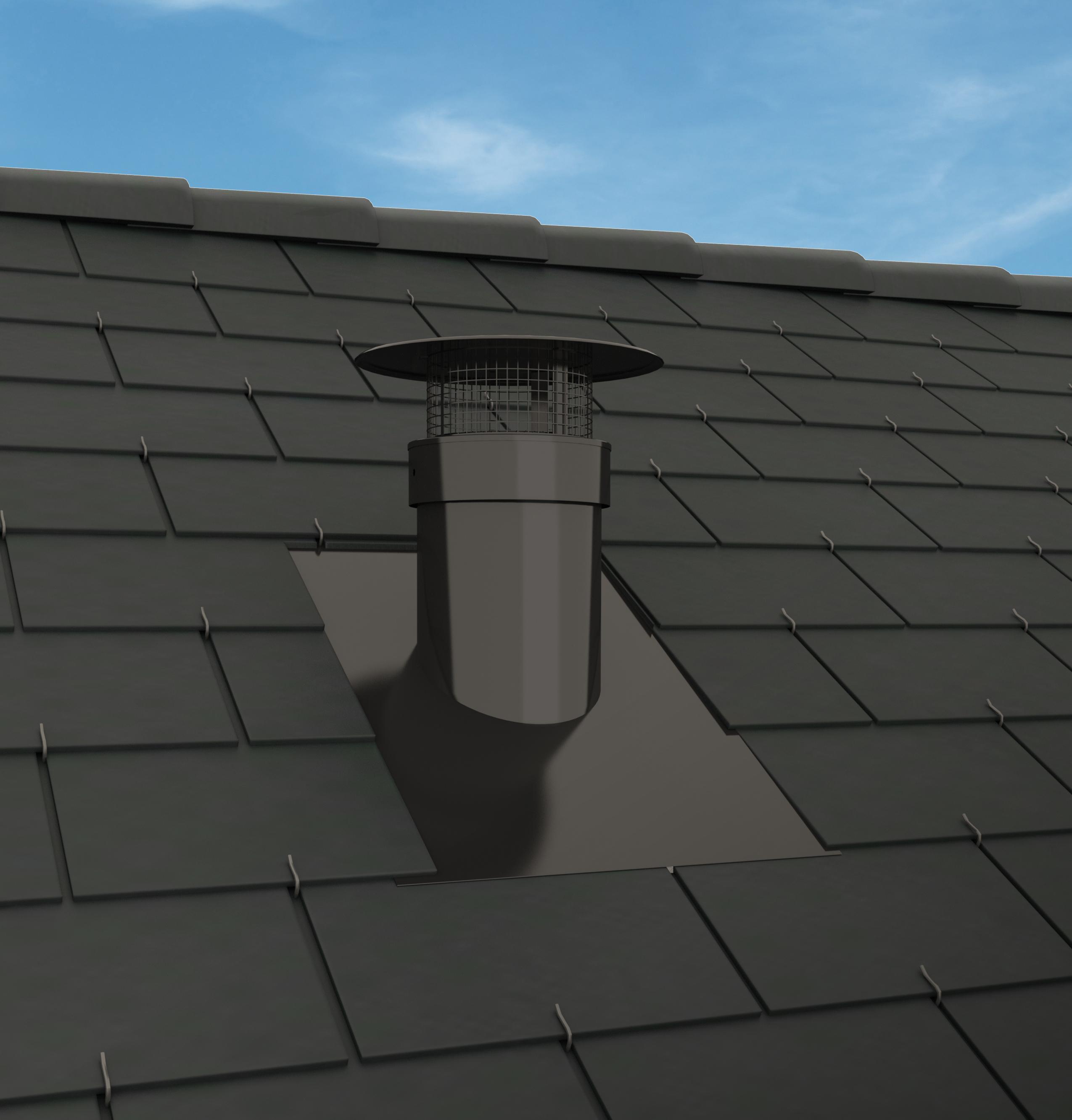 Chemin es poujoulat lance vent lia la sortie de toit for Sortie de cheminee poujoulat