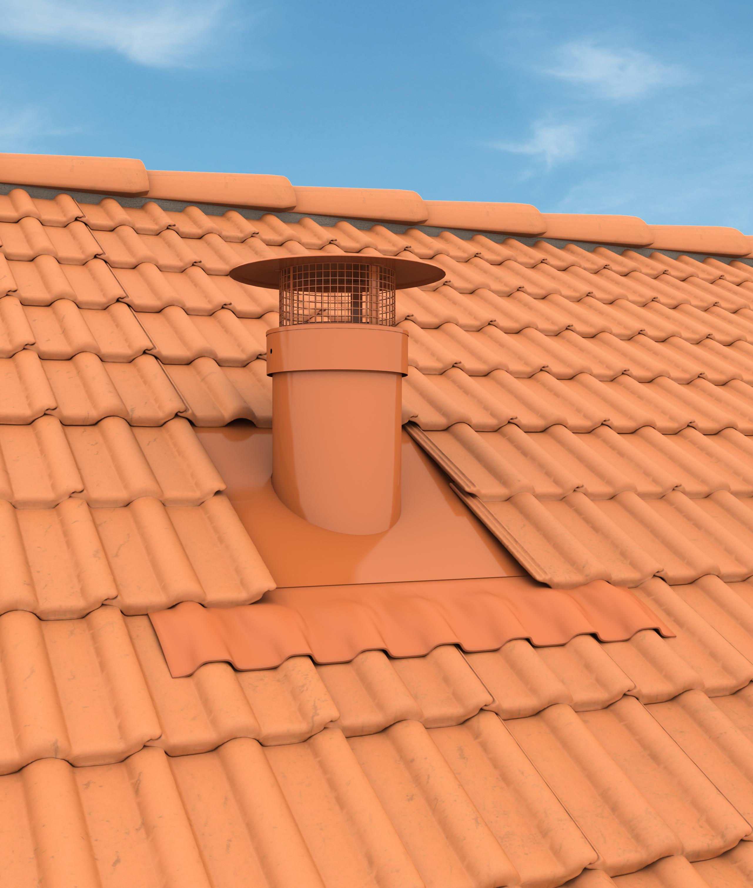 Vmc sans sortie de toit